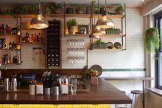 Berber & Q Shawarma Bar, Exmouth Market Shawarma, Restaurant Lighting, Restaurant Ideas, London Restaurants, Light Project, Small Plates, Led, Glass Domes, Interior Styling