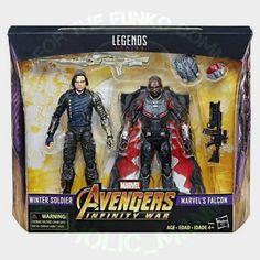 Not Funko related but.... here's a look at Marvel Legends: Winter Soldier & Falcon 2-Pack from Avengers: Infinity War! . #funko #funkopop #funkopops #funkocollector #funkocollection #funkopopcollector #funkopopcollection #funkomaniac #toycollector #vinylfigures #funkomania #vinylfigure #toycollection #funkofamily #toycollector #toycollection #funkocommunity #funkofunatic #popoholicmaniac #funkopopphotography #popphotography #toyphotography #marvel #marvellegendscommunity #marvellegends…