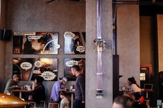 Canterbury, Espresso, Old Post Office, Old And New, New Zealand, Places, Image, Interior, Indoor