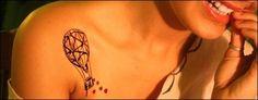 hot air balloon tattoo | Tumblr