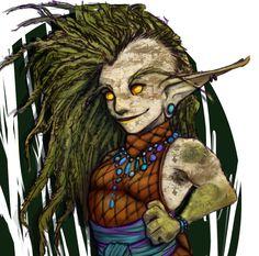 shes a druid.  #shesnotadruid #myart #linework #fantasyage #corelpainter #originalcharacter