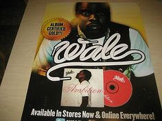"""Wale """"Ambition"""" Promo Poster MMG"""