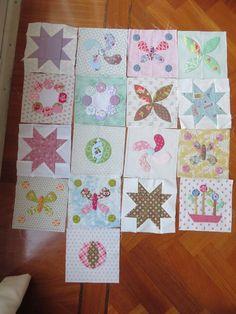 Stonefields quilt van Susan Smith gemaakt door Carina van http://tuinpatchcarina.blogspot.nl/