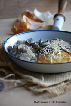 polędwiczki w sosie pieczarkowym