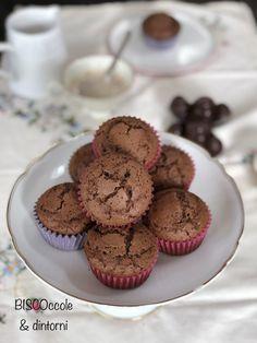 Muffin al farro e cioccolato fondente – senza burro (ricetta con e senza Bimby)