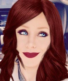 Vivian dallas redhead