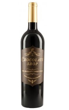 Chocolate Shop Wine - Chocolate Red Wine