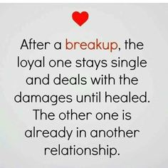 Hard time dating after breakup