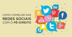 A maioria das pessoas percebe que as redes sociais são ferramentas de marketing muito eficazes, se trabalhadas corretamente. Como começar nas redes sociais? http://designportugal.net/como-comecar-nas-redes-sociais-com-o-pe-direito/