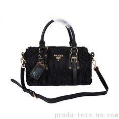 Discount #Prada Gaufre Fabric Top Handle Bag onnline sale