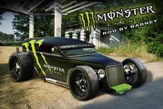 Ideas for my new street rod (More at pinterest.com/gary5mith/ideas-for-my-new-street-rod/) : Monster-ENERGY-Rod by ~BarneyHH on deviantART