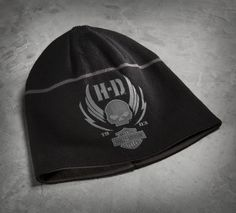 534c714da31 A simple stripe and H-D skull graphics is all that s needed to keep your  head warm. Harley Davidson MotorcyclesCustom ...