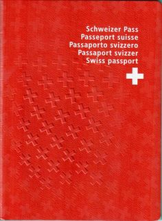 The passport issued to citizens of Switzerland has used Frutiger (the namesake of Swiss type designer Adrian Frutiger) on its cover since Grid, Divorce Papers, Swiss Style, Swiss Design, Passport Cover, Stolen Passport, British Passport, Birth Certificate, Editorial Layout