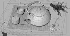 ArtStation - Teaset, Raphael Rau