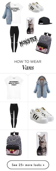 """""""Untitled #38"""" by anaramos-2001 on Polyvore featuring mode, adidas Originals et Vans"""