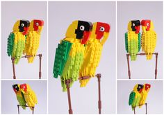 7 | A Bird Lover On A Quest To Make 100 Lego Birds | Co.Design: business + innovation + design