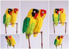1 | A Bird Lover On A Quest To Make 100 Lego Birds | Co.Design: business + innovation + design