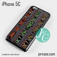 back to the future date Phone case for iPhone 5C and other iPhone devices