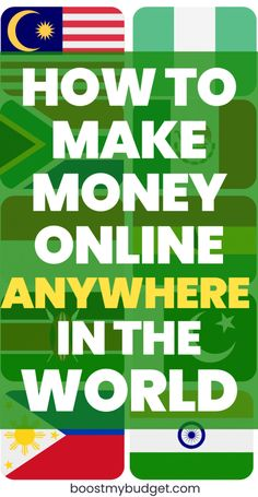 How to make money online from anywhere in the world: international money making websites you can join form India, the Philippines and more! Earn Money Online Fast, Earn Money From Home, Online Earning, Way To Make Money, Earning Money, How To Make, Money Making Websites, Internet Money, Money Tips
