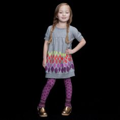 Love the mix and match tunic over leggings