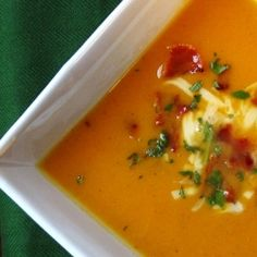 bacon sweet potato soup with sage