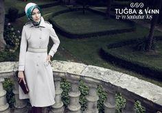 Tuğba & Venn '12-'13 Sonbahar/Kış. Hijab. #hijab #coat #scarf #tugba