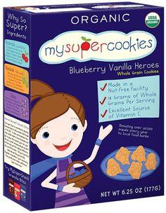 Healthy cookies for toddlers: Blueberry MySuperCookies