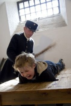 1908 The New York Board of Education bans whipping in public school. Getting Spanked, Blind Eyes, Real Monsters, Discipline, Cute Teenage Boys, Public School, Little Boys, Christianity, Children