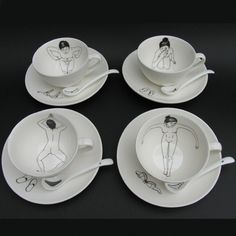 Bathing Girls Tea Set | Sumally