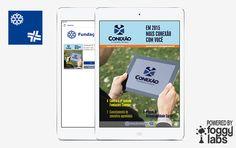 Aplicativo Fundações Sanepar para iPad, iPhone e Android, no Portfolio de Aplicativos da Foggy Labs  #revistanotablet