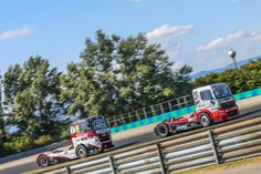 #fia #etrc #truckracing #hungaroring 2015 #norbikiss and #rolandrehfeld #mercedesbenz #truck #truckrace