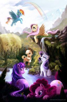 MLP                                           - my-little-pony-friendship-is-magic Fan Art