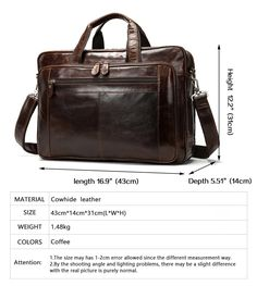 73d468de1782 Men s Luxury Leather Weekender Travel Bag Large Capacity Luggage Bag For  Leisure and Business Travel 100% Leather Big Weekend Bag Travel Bags For Men