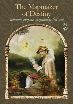 Oracle Cards by Colette Baron-Reid. Today life will present you with circumstances to transform fate into destiny. Get ready!