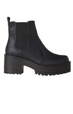 Lipstik Shoes - Eamon Boot - Black