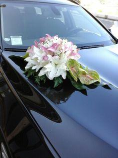 addobbo floreale macchina