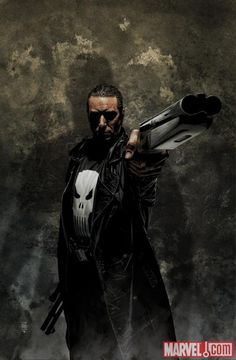The Punisher - Max Marvel Comic Movies, Comic Book Characters, Comic Book Heroes, Marvel Characters, Comic Character, Comic Books Art, Comic Art, The Punisher, Punisher Comics
