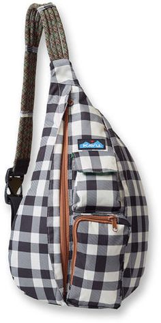 BW Plaid Kavu Rope Bag. NEW Spring 2016 colors are now available at Great Lakes Outpost!