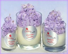 Sweetlove Candles & Soap Bakery: Lavender Vanilla Luxury Cupcake ...