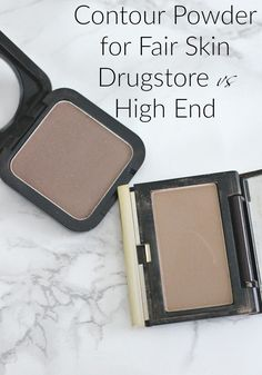 Contour Powder for Fair Skin | Drugstore vs High End