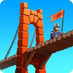 [playstore] Bridge Constructor Medieval R$ 0,40