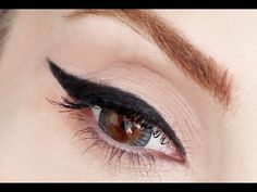 "Yeni Eyeliner Sürme Tekniği ""Best Easiest Way To Wear Perfect Eyeliner"" - YouTube"