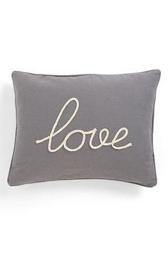 sweet 'love' pillow.