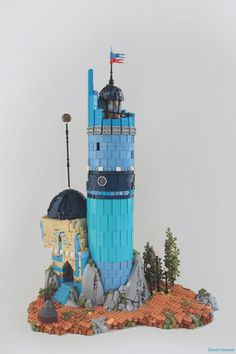 https://flic.kr/p/zZMEMA   The Magician   A mystical magician approaching the solitary spire he calls home, to study the stars, read his books, and do magic stuff! Greatly inspired by the fabulous artworks of Péah. Normally I try build original completely compositions, but when I saw his work I just had to build it, it's so beautiful, and I'd love to build more of it! peahart.tumblr.com/ This is my main exhibit for the upcoming Auckland Brick show this weekend and Brickcon-NZ the…
