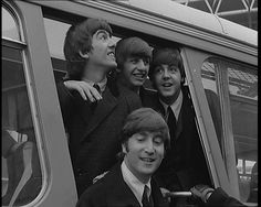 Classic Beatlemania scenes as the Fab Four come back to the UK in 1964 after touring. Film: http://www.britishpathe.com/video/beatles-welcome-home/