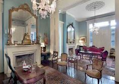 HISTORIC HOMES in FLORIDA: LOUISIANA ANTEBELLUM GREEK REVIVAL PLANTATION MANSION WENT UP FOR AUCTION