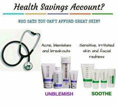 GREAT NEWS FRIENDS!!! Two of the Rodan+Fields regimens (Unblemish and Soothe) are now covered under Flex Spending Accounts because they have clinically-proven dermatological ingredients! Plus ALL sunscreens with 30 SPF and up qualify! Contact me if you are ready?