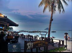 Holiday Inn bar in Laem Tong beach, Phi Phi Island, Thailand