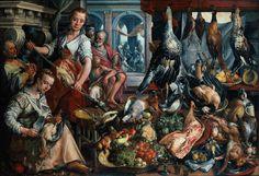 J. Beuckelaer, La cocina bien surtida (1566)