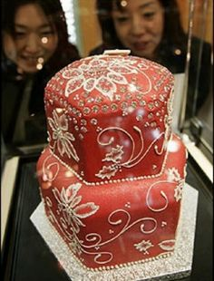 Most expensive wedding cake is 4 thousand per slice... (BB)#